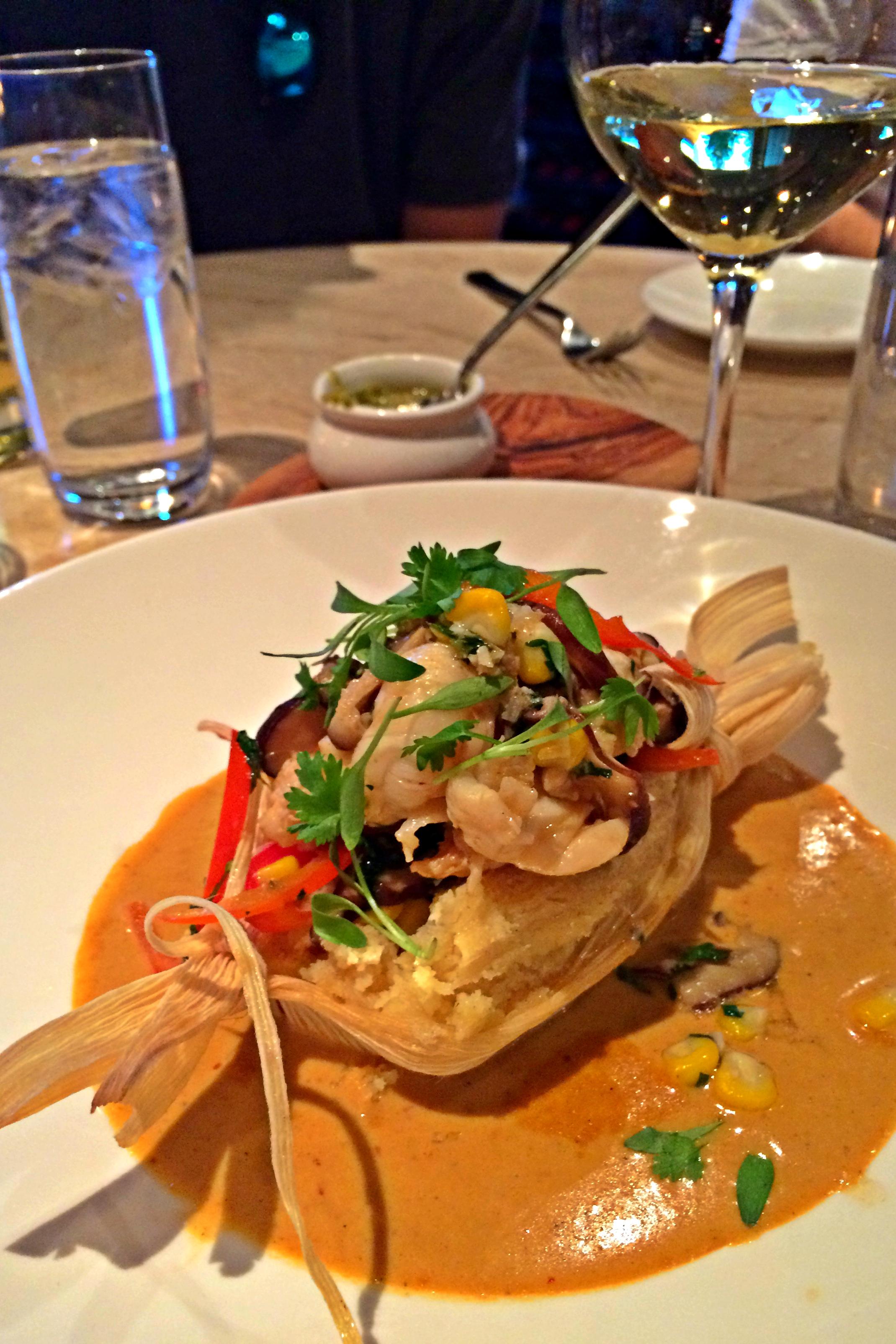 Lobster Tamale
